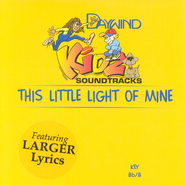 This Little Light of Mine, Accompaniment CD   -     By: Kidz