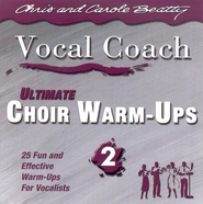 Ultimate Choir Warm-Ups 2 CD   -              By: Chris Beatty