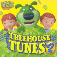 Boz the Green Bear Next Door: Treehouse Tunes #2 CD   -