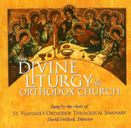 The Divine Liturgy of the Orthodox Church--CD   -              By: St. Vladimir's Liturgical Chorale