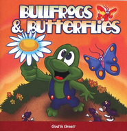 Bullfrogs & Butterflies: God Is Great CD   -