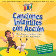 Canciones Infantiles con Accion CD   -     By: Cedarmont Kids