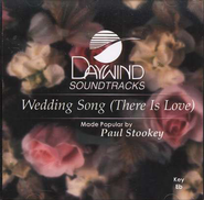 Wedding Song (There Is Love), Accompaniment CD   -     By: Wedding Music