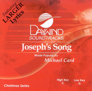Joseph's Song, Accompaniment CD   -     By: Michael Card