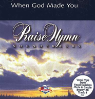 When God Made You, Accompaniment CD   -     By: NewSong