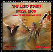 The Lord Roars From Zion CD   -     By: Karen Davis