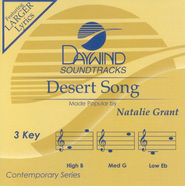 Desert Song, Accompaniment CD   -     By: Natalie Grant