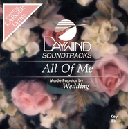 All Of Me, Accompaniment CD   -