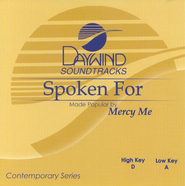 Spoken For, Accompaniment CD   -     By: MercyMe