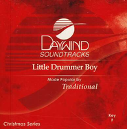 Little Drummer Boy, Accompaniment CD   -     By: Christmas