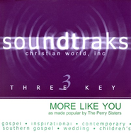 More Like You, Accompaniment CD   -              By: The Perrys