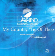My Country 'Tis Of Thee, Accompaniment CD   -     By: Traditional