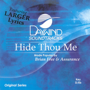 Hide Thou Me, Accompaniment CD   -              By: Brian Free & Assurance