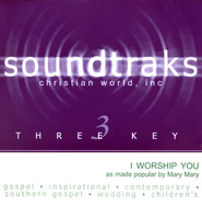 I Worship You, Accompaniment CD   -     By: Mary Mary