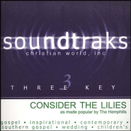 Consider The Lilies, Accompaniment CD   -     By: The Hemphills