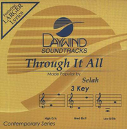 Through It All, Accompaniment CD   -     By: Selah