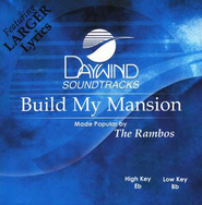 Build My Mansion, Accompaniment CD   -              By: The Rambos