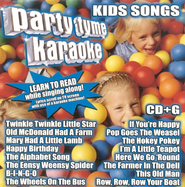 Party Tyme Karaoke: Kids Songs CD   -