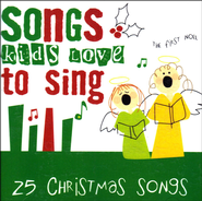 Songs Kids Love to Sing: 25 Christmas Songs, Compact Disc [CD]   -              By: Various Artists