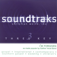 I'm Forgiven, Accompaniment CD   -     By: Gaither Vocal Band