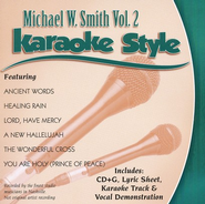 Michael W Smith, Volume 2, Karaoke Style CD   -