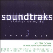 Lay 'Em Down, Accompaniment CD   -     By: NEEDTOBREATHE
