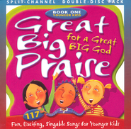 Great Big Praise, Book 1, Split-Channel CD  -