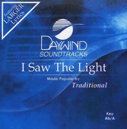 I Saw The Light, Accompaniment CD   -