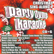 Party Tyme Karaoke: Christmas Sing-Along 4 CD   -