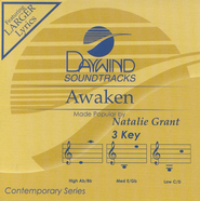 Awaken, Accompaniment CD   -     By: Natalie Grant