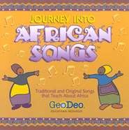 Journey into African Songs CD   -