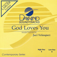 God Loves You, Accompaniment CD   -     By: Jaci Velasquez