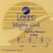 Mighty God, Accompaniment CD   -              By: Martha Munizzi