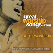 Great Worship Songs: God Of Wonders CD   -