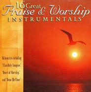 16 Great Praise & Worship Instrumental   -     By: Various Artists