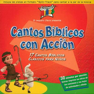 Cantos B&#237blicos con Acci&#243n  (Action Bible Songs), CD  -     By: Cedarmont Ninos