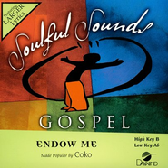 Endow Me, Accompaniment CD   -              By: Coko