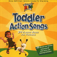 Toddler Action Songs, Compact Disc [CD]   -     By: Cedarmont Kids