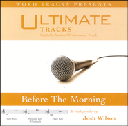 Before The Morning - Medium Key Performance Track W/Background Vocals  [Music Download] -     By: Josh Wilson