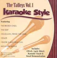 The Talleys, Volume 1, Karaoke Style CD   -