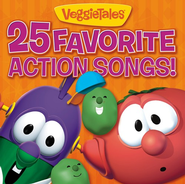 VeggieTales 25 Favorite Action Songs CD   -