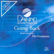 Going Back, Accompaniment CD   -     By: The Freemans