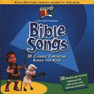 Bible Songs, Compact Disc [CD]   -     By: Cedarmont Kids