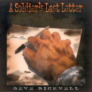 A Soldier's Last Letter CD   -     By: Gene Bicknell