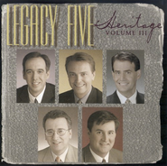 The Heritage Series, Volume 3 CD   -              By: Legacy Five