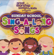 Sunday School Sing-A-Long Songs CD  -              By: Kids Praise Band