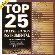 Top 25 Praise Songs Instrumental, Compact Disc [CD]   -