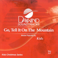Go Tell It On The Mountain, Accompaniment CD   -     By: Kidz