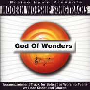 God Of Wonders, Accompaniment CD   -