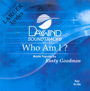 Who Am I? Accompaniment CD   -